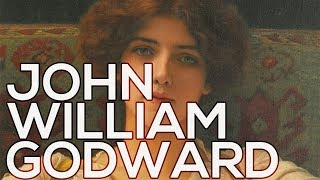John William Godward: A collection of 126 paintings (HD)
