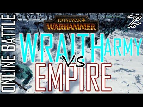 WRAITH ARMY vs EMPIRE! - 1v1 Online Battle Total War: Warhammer