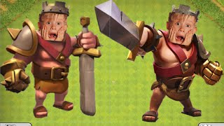 Barb King Flees In Terror Clash of Clans