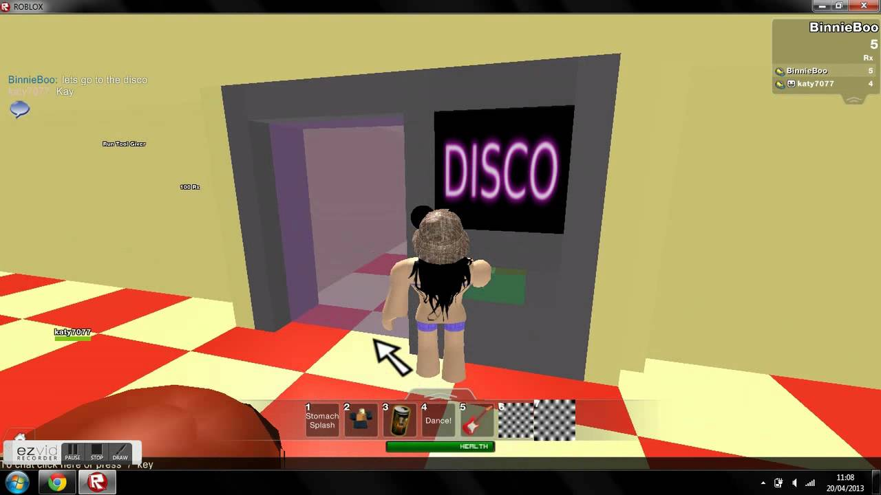 Roblox how to leave a party