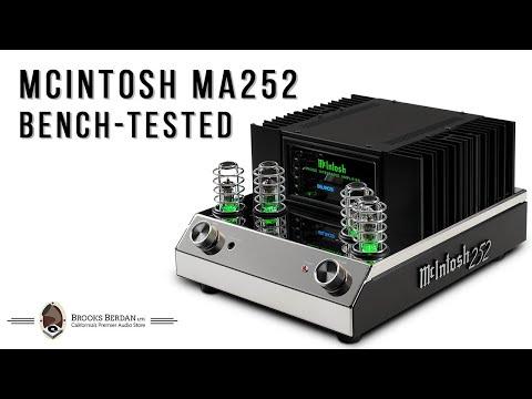 McIntosh MA252 Integrated Amplifier PUNISHED - Brooks Berdan Ltd.