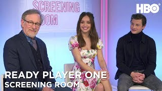 Steven Spielberg, Olivia Cooke & Tye Sheridan On Ready Player One (2018) | HBO