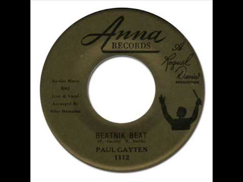 PAUL GAYTEN - Beatnik Beat [Anna 1112] 1960