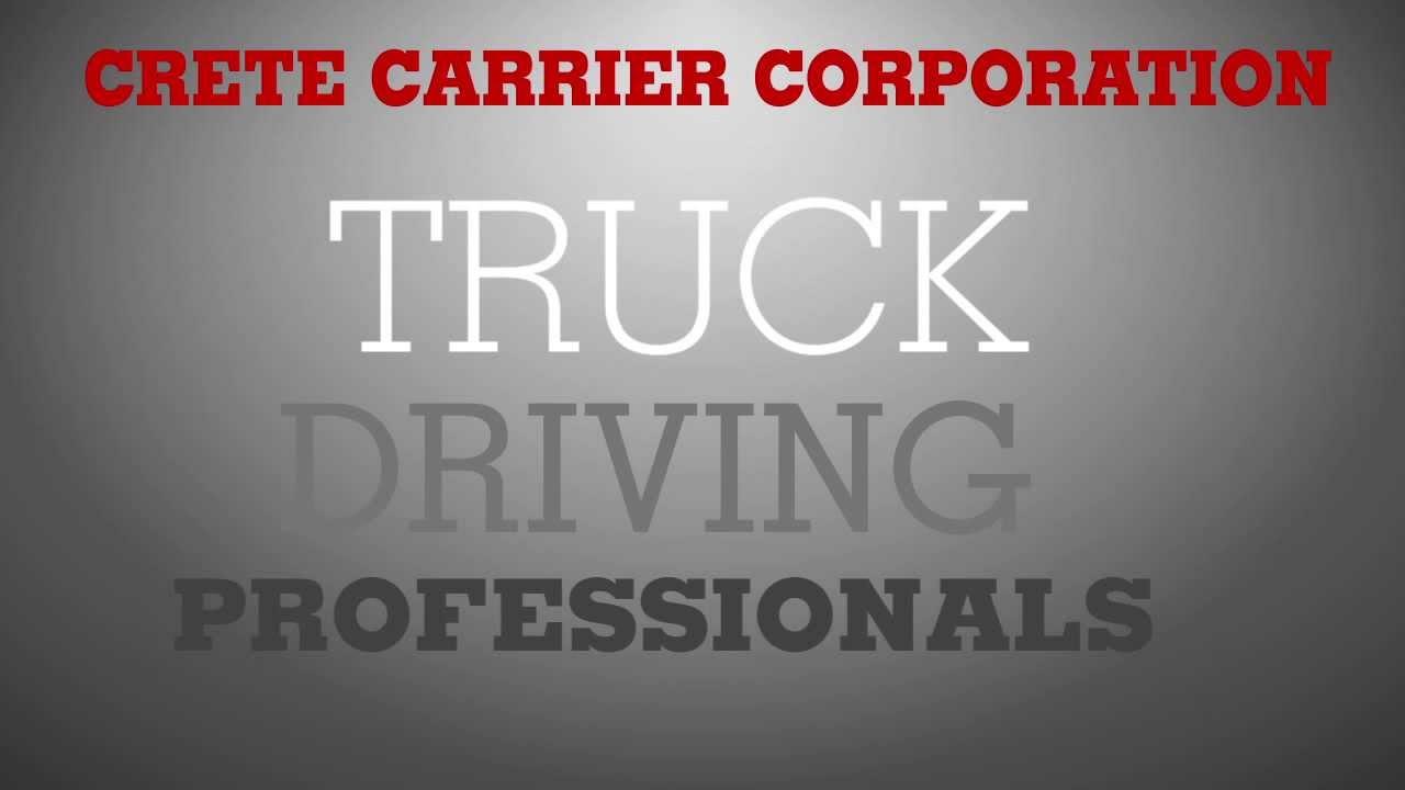 Tulsa Truck Driving Jobs 539 777 2333 Crete Carrier