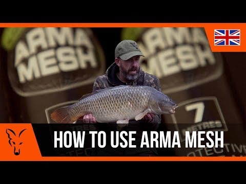 ***CARP FISHING TV*** How To Use Arma Mesh