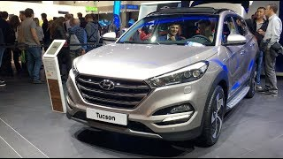 Hyundai Tucson 2017 In detail review walkaround Interior Exterior