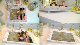 Vanity tray for
