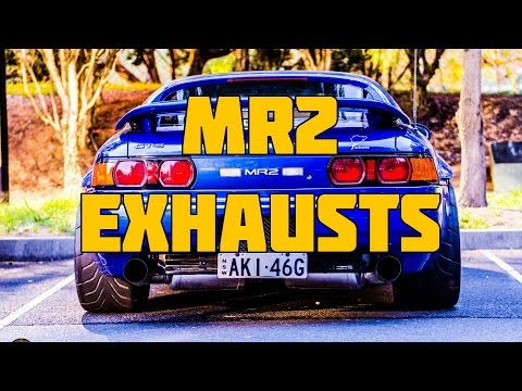 ULTIMATE Toyota MR2 SW20 MK2 NA Turbo and V6 Exhaust Engine Sound Compilation