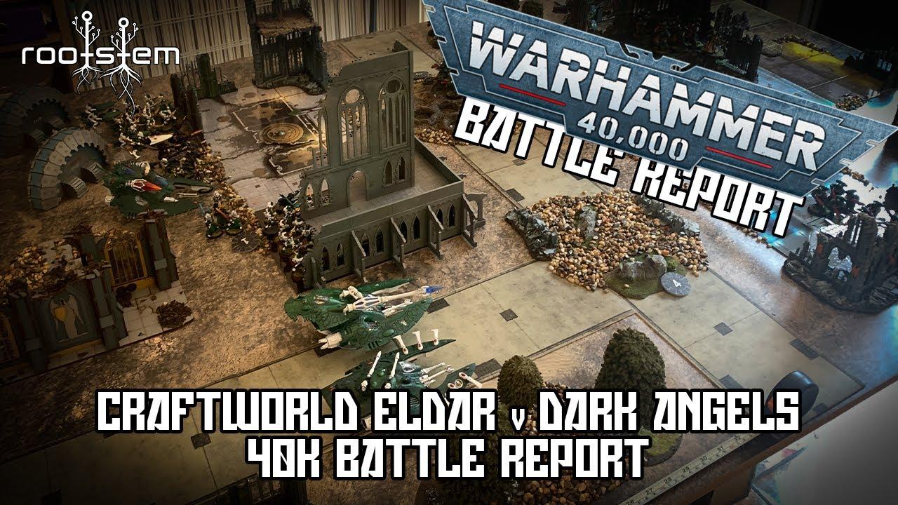 New 40k Batrep with Eldar v Marines