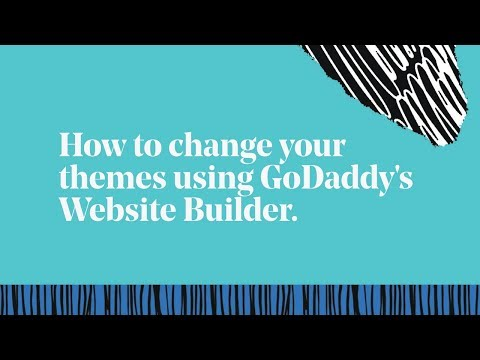 How To Change Your GoDaddy Website Theme