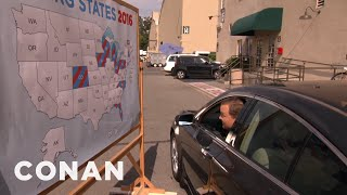 Andy Richter's Swing State Map Sketch...Or Is It?  - CONAN on TBS