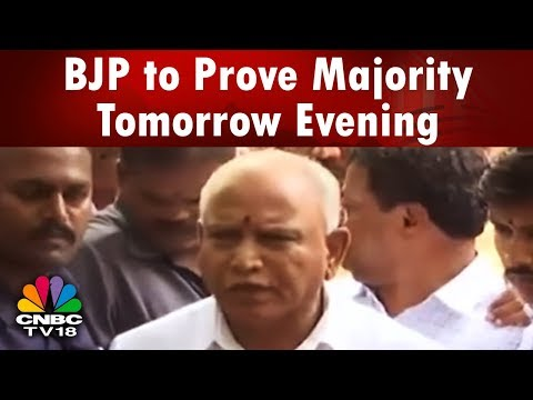 Election Exchange: BJP Asked to Prove Majority Tomorrow Evening   CNBC TV18