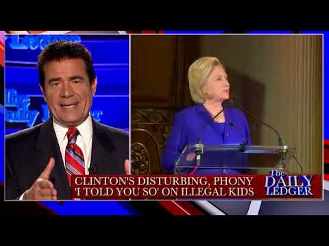 Stop the Tape! Clinton's Phony Rant on Illegal Kids