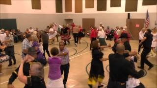 Square Dancing CCHA 66th Anniversary Dance Cliff Simpson & Brent Lively May 2015
