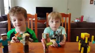Minecraft Action Figure Toys - Dont shoot the Cameraman!