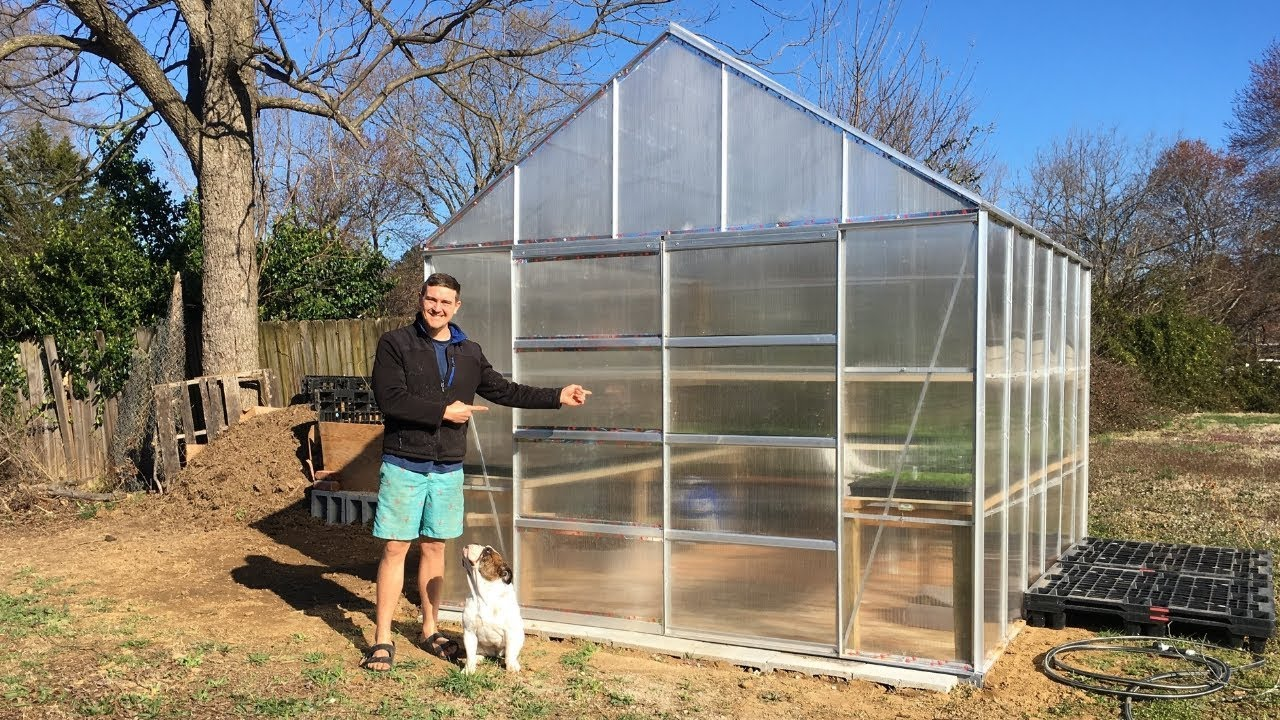 How To Build A Greenhouse Frame