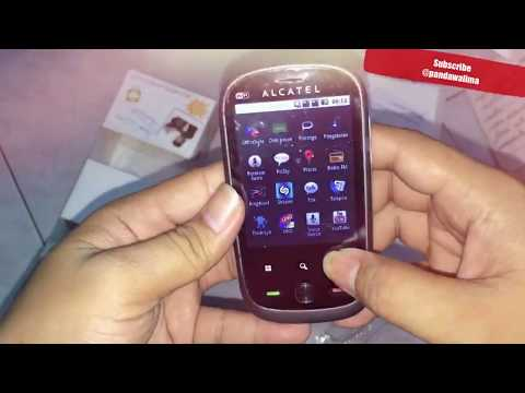 UNBOXING HP Android Alcatel One Touch 890D #MURAH