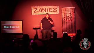 Mike Fountain at World Series Of Comedy 2018