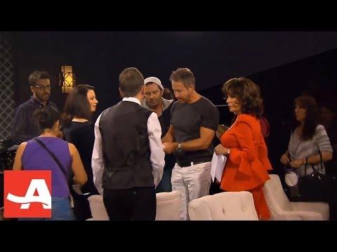 Happily Divorced - on set with the Hispanic actors Rita Moreno & Valente Rodriguez | AARP