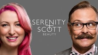 Serenity+Scott Beauty YouTube Debut Thumbnail