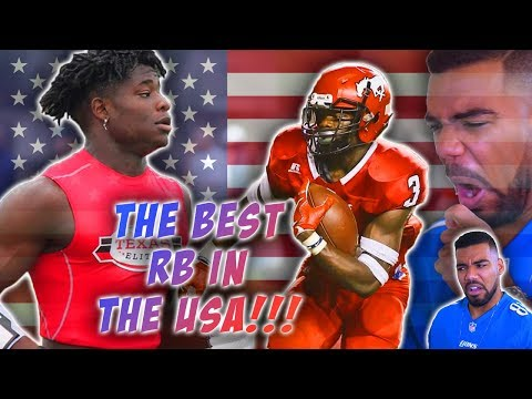 The #1 High School Running Back In !!!AMERICA!!!- Zachary Evans Highlights [Reaction]