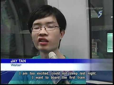 Train Otaku Can T Sleep Over New Circle Line Opens 08oct2011