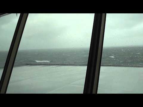 Storm aboard Ms. Veendam (Between the Falkland Islands and Argentina - December 2010).m4v