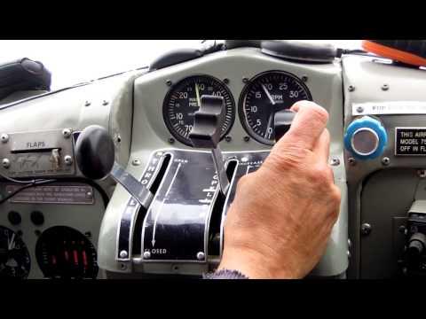 De Havilland DHC-2 Beaver Flight Lake Evans, Quebec 2012
