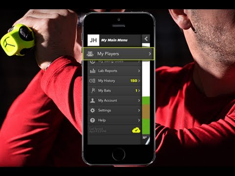 Zepp Baseball Training Tool Launch Demonstration - ZeppTraining.com
