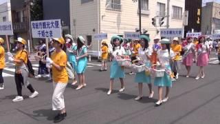 2015年8月8日、水戸黄門まつりのハイライト、パレードの様子です。午...