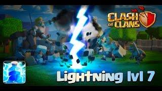 Clash of Clans - NEW September 2015 Update Sneak Peek (Level 7 Lightning Spell)!