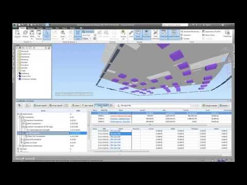 Model Based Quantification Workflow using Autodesk Construction Solutions