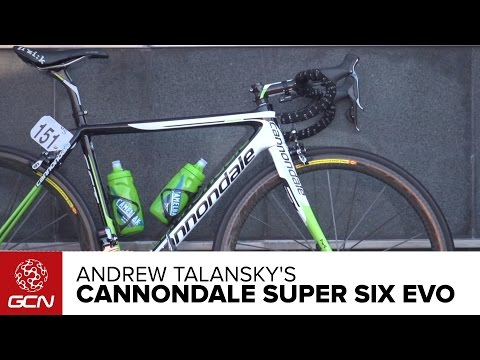 Andrew Talansky's Cannondale Super Six Evo