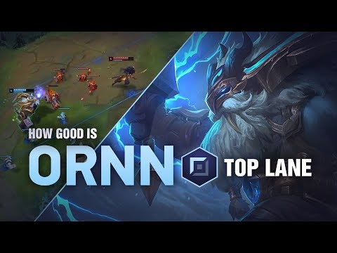How Good Is Ornn Top? | League of Legends Patch 9.1 thumbnail
