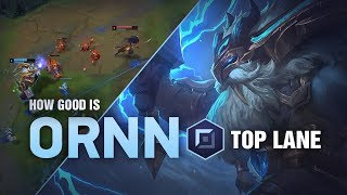 How Good Is Ornn Top? | League of Legends Patch 9.1