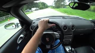 Driving POV - Porsche Boxter S (987) (2005) - La Honda Rd, CA