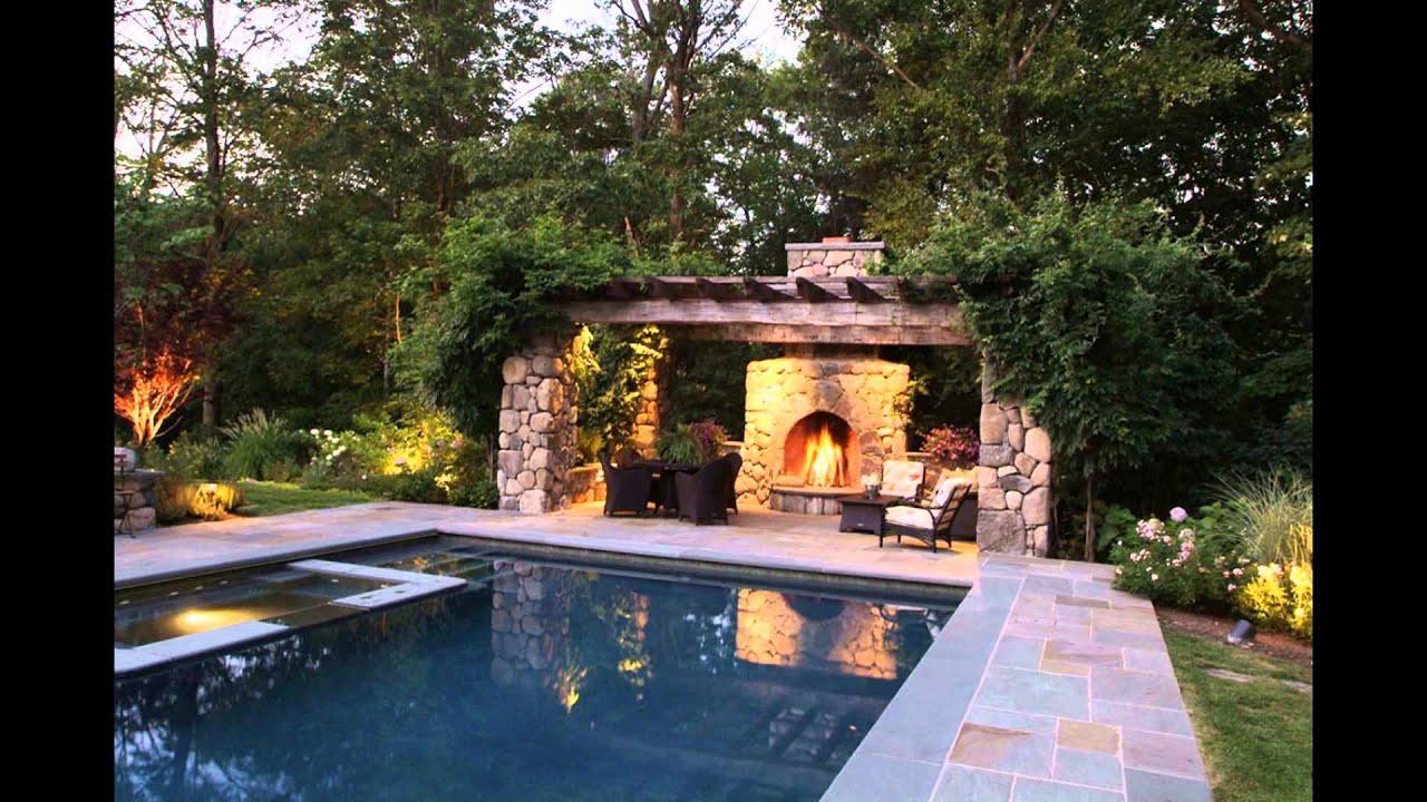 Backyard Projector - YouTube