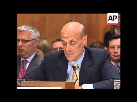 Six years after the 9/11 attacks, Homeland Security Director Michael Chertoff told a Senate Committe