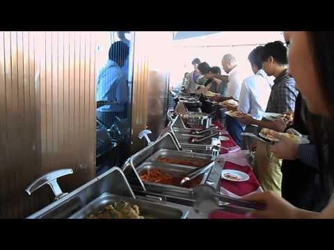 Buffet Lunch at the Revolving Restaurant   Part 1   Yanggakdo Hotel   North Korea   September 2013 A