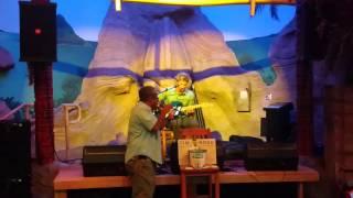 "Del singing ""What a Wonderful World"" w/Tim Rose at Jimmy Buffets Honolulu Hawaii!"