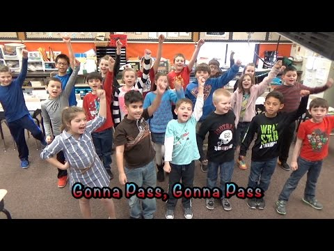 """Gonna Pass"" (ISTEP Testing Parody of Disney's ""Let It Go"") - Wilbur Wright Elementary School"