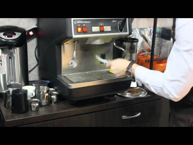 Чистка кофемашины и холдеров (Серия тренингов бариста от сети кофеен ТМ MY COFFEE)