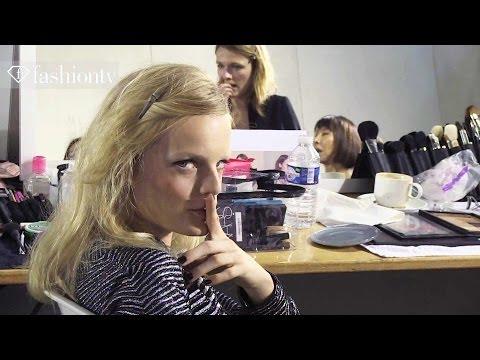 "Zadig & Voltaire S/S 2014 Hair and Make Up | MS MR ""Hurricane"" | Paris Fashion Week PFW | FashionTV"