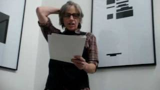 Eileen Myles POETRY READING in Paris