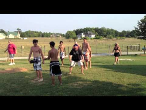 Johnston Family Vacation Football Bloopers