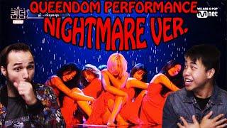 Gidle Queendom performance NightmareVer REACTION!!!