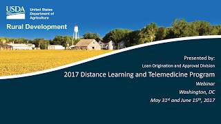 Distance Learning Telemedicine Webinar for 2017