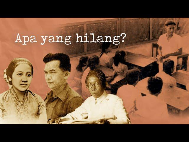 Apa Yang Hilang dari Pendidikan di Indonesia