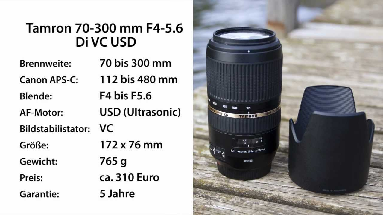 das telezoom duell tamron 70 300 mm vc usd vs canon ef 70 200 mm 4 l usm youtube. Black Bedroom Furniture Sets. Home Design Ideas