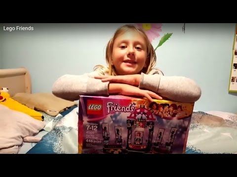 LEGO Friends Pop Star Show Stage not unboxing just yet